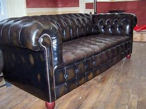 canape chesterfield occasion belgique univers canape With canapé cuir anglais chesterfield occasion