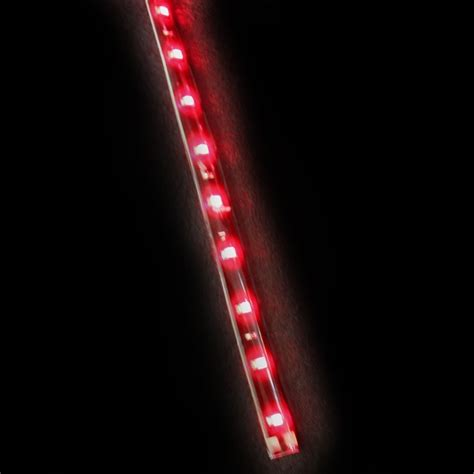 red led light strip led headlight strips red car truck kit 2 bright led