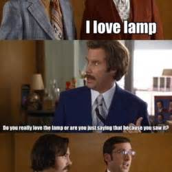 steve carell i love l quote scene in anchorman the