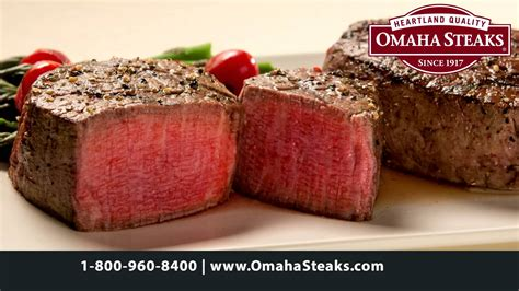 Omaha Steaks for the Holidays - YouTube