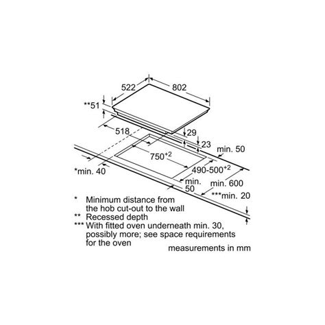 Piani Cottura A Induzione Bosch by Piano Cottura A Induzione Bosch Pvs851fb1e 80 Cm Fab