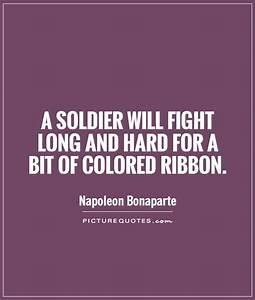 NAPOLEON BONAPA... Ribbon Quotes