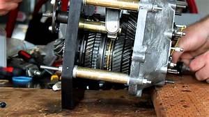 002 Vw Transaxle Rebuild Part 6 - Gear Spin Video