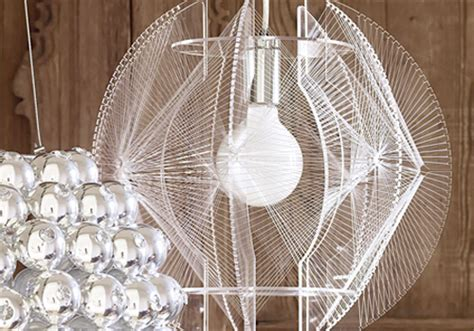 wire chandelier by graham and green design milk