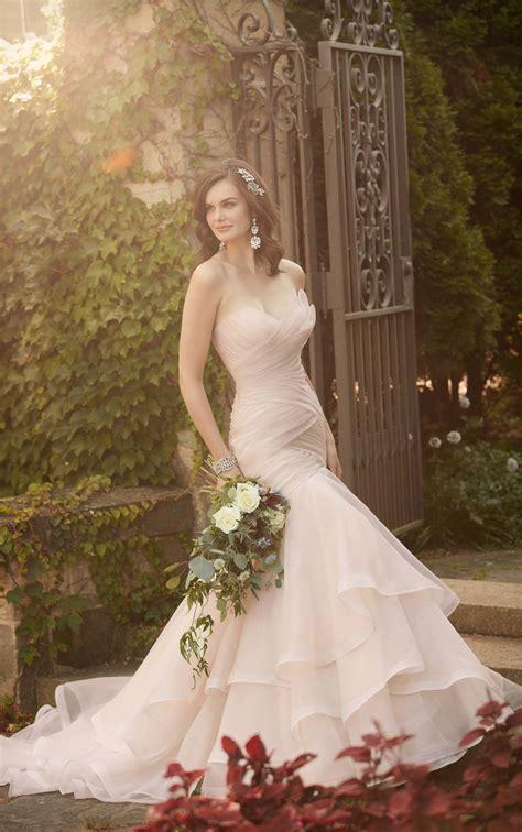 Pleated Wedding Dress Essense Of Australia