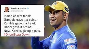 14 tweets that ... Dhoni Retires Quotes