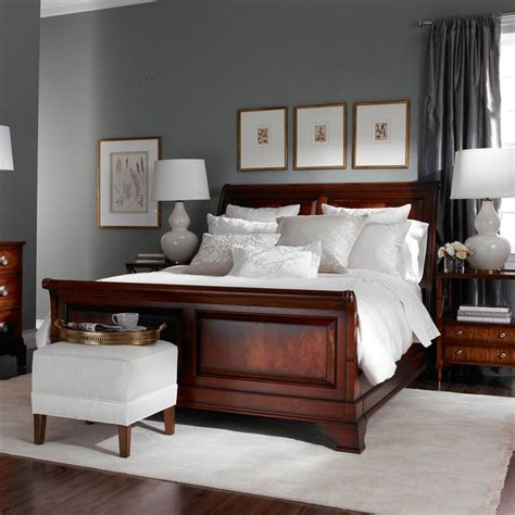image result  wall color  cherrywood furniture