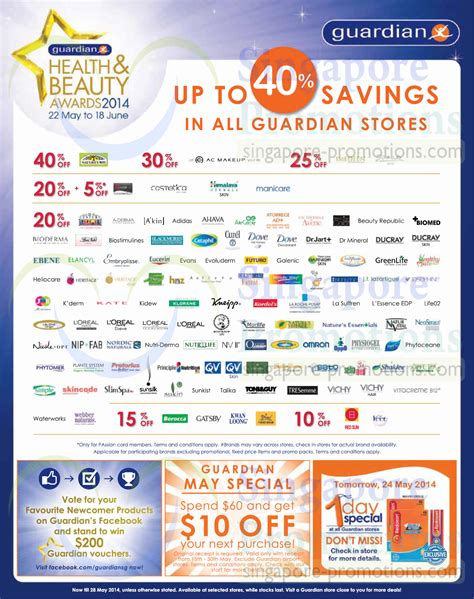 Guardian Health, Beauty & Personal Care Offers 22  28 May
