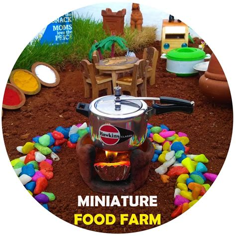 miniature food farm youtube