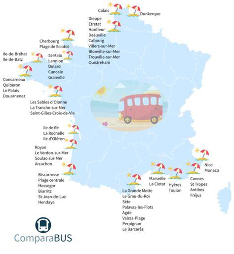 Carte Des Plages De by Aller 224 La Plage En En D 232 S 9 Comparabus
