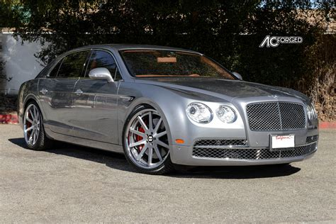 bentley custom rims bentley flying spur custom wheels ac acr 413 22x9 0 et