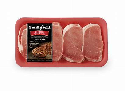 Pork Chops Smithfield Boneless Composite Meal Bbq