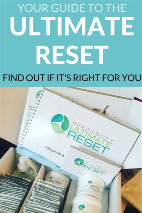 Ultimate Reset: Everything You Need to Know About