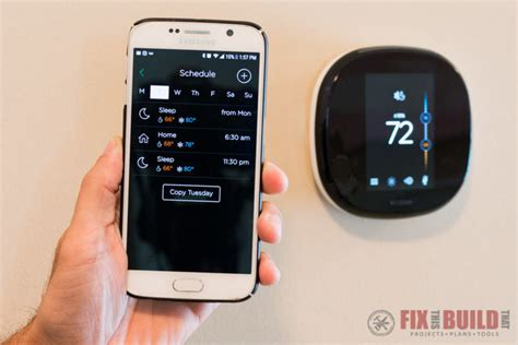 smart thermostat install and setup ecobee4 fixthisbuildthat