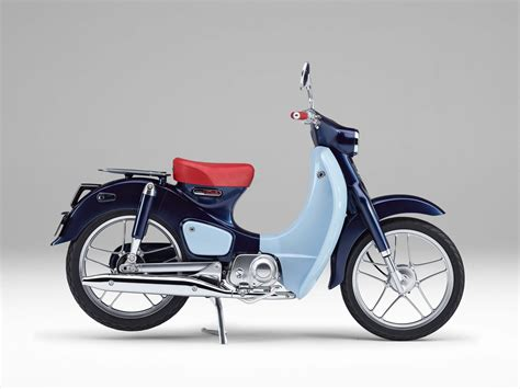 Honda Super Cub Concept Brings Modern Flare To A Classic