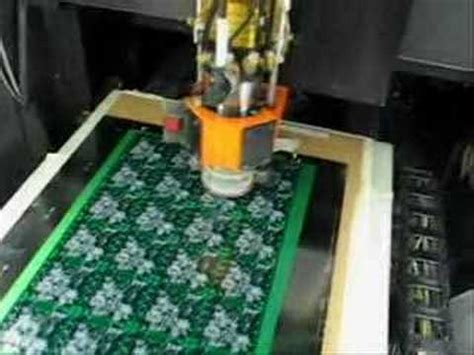 Pcb Cnc Circuit Board Drilling Machine Youtube