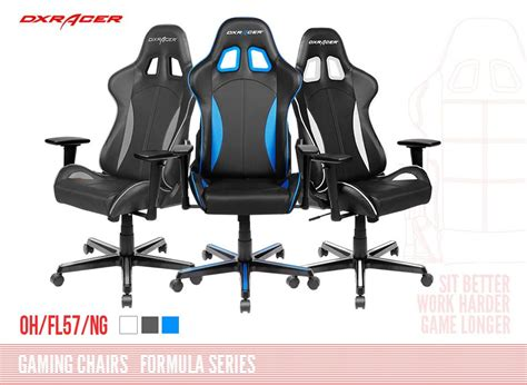 dxracer f series gaming chair sparco style neck lumbar