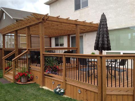 Deck Design Winnipeg  Dehart Construction