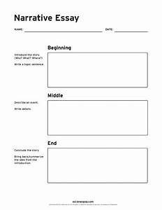 Narrative Essay Graphic Organizer