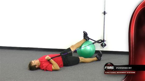 exercises dorsiflexion core ball roll resisted movement fmt activation exercise tubing functional point attachment secure functionalmovement