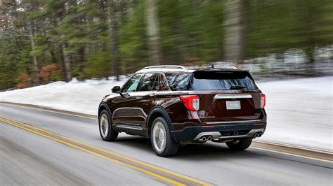ford explorer debuts  rear wheel drive platform