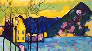 Schede didattiche inverno: il paesaggio di Kandinsky
