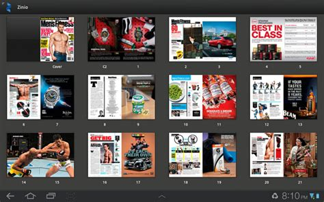 zinio for android zinio read top magazines on a tablet android