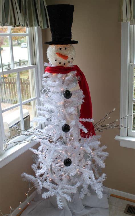 images  snowman tree  pinterest christmas