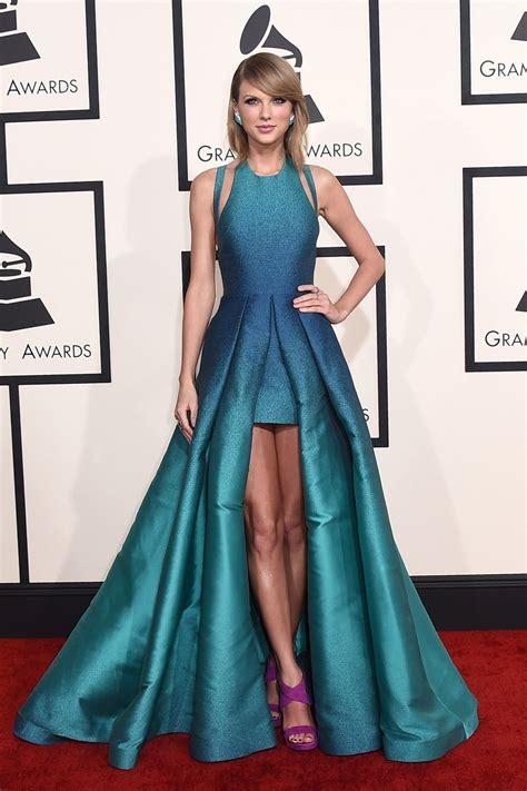 More Grammys 2015 Red Carpet Arrivals   Taylor swift dress ...