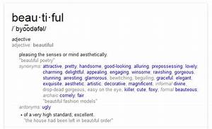 Find Your Synon... Beautiful Synonyms