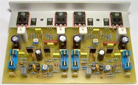 channel mosfet amplifier circuits electronics projects