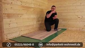 Osb Platten Auf Dielen Verlegen : parkett auf holzuntergrund youtube ~ Whattoseeinmadrid.com Haus und Dekorationen