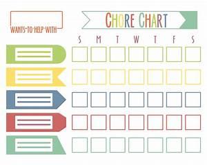 9 Best Printable Responsibility Chore Chart Printablee Com