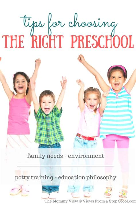 tips for choosing the right preschool for your child the 905 | Choosing the RightPreschool