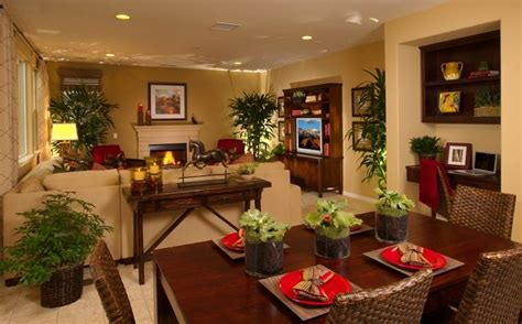 Living Room And Dining Room Combo Decorating Ideas With
