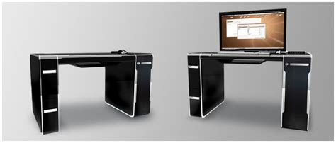 bureau ordinateur design gain d 39 espace et de fonctionnalités le bureau ordinateur