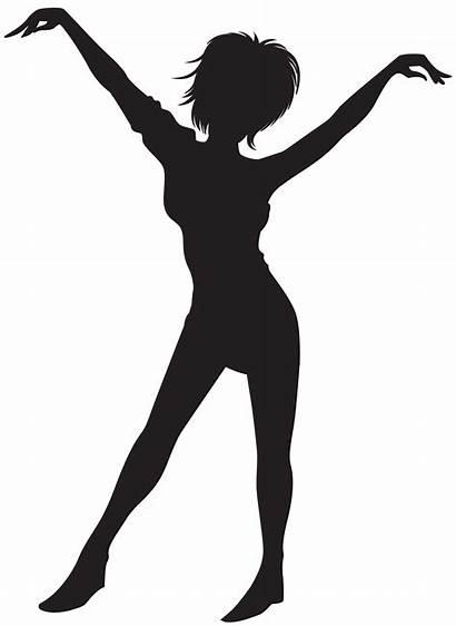 Silhouette Dancing Clip Clipart Silhouettes Dance Ballerina