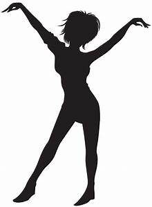 Dancing, Girl, Silhouette, Clipart, 10, Free, Cliparts