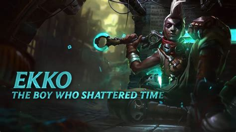 ekko champion spotlight gameplay league  legends