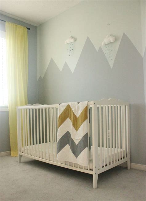 nursery wall murals ideas  pinterest