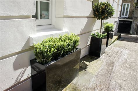 bespoke planters metal planters custom window boxes