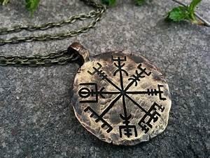 Dessin Symbole Viking : le vegvisir un symbole nordique tr s ancien et sacr de protection et d 39 orientation le ~ Nature-et-papiers.com Idées de Décoration