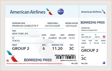 bid on airline tickets view size