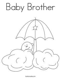 Free Baby Shower Coloring Pages Printables Baby Shower