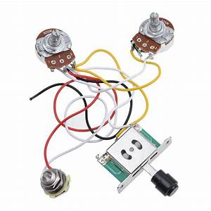 Guitar Prewired Wiring Harness For Fender Tele Parts 3 Way