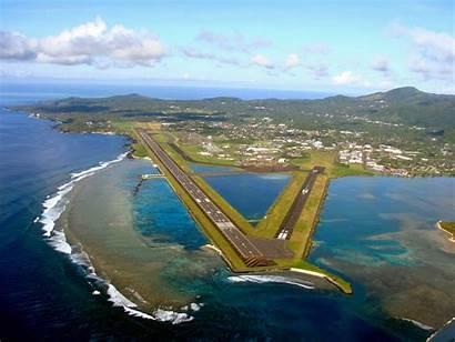 Island Tutuila Airport Samoa American Tourism Pago