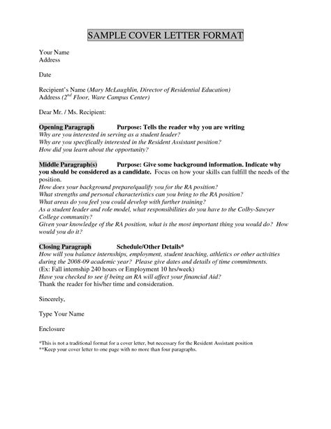 How To Write A Cover Letter For A Story by Cover Letter Without Name Resume Badak