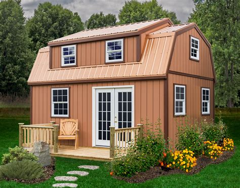 Large Barn Kits by Lakewood 12 X18 Large Storage Shed Kit Diy Shed By