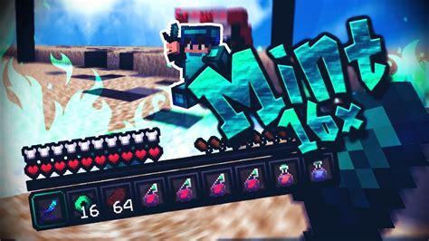 Minecraft Mint 16x16 Uhcpvp Texture Pack Keymod
