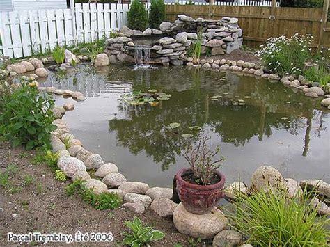 construire bassin ext 233 rieur 201 tang ou jardin d eau plans id 233 es